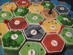 settlers of catan cake | Fun Cupcakes | Pinterest