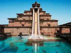 Leap of Faith at Aquaventure, Atlantis The Palm, Dubai