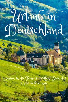 Habt ihr schon mal darüber nachgedacht, euren nächsten Urlaub in Deutschland zu verbringen? Sofern das nicht der Fall ist, kann ich euch keinen Vorwurf machen, denn die meisten von uns unterschätzen die Vielseitigkeit und Schönheit deutscher Urlaubsregionen. Doch das will ich mit diesem Artikel nun ändern. Seht her und staunt – so schön kann Urlaub in Deutschland sein!