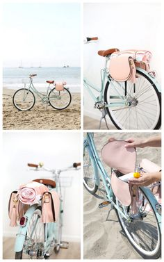 DIY Bike Pannier BagsIf you're looking for bike storage on your bike rack, take a look at these DIY Pannier Bags. They are cleverly made with 2 bags from Old Navy, but any sturdy leather purse/bag would work. Find the tutorial for these DIY Bike...