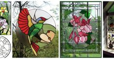 Aprende la técnica de falso vitral para hacer lindos adornos Decoupage, Lily, Painting, Pasta, Textiles, Ideas, Stained Glass Designs, Stained Glass, Painting Art