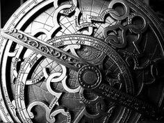 Astrolabe old MiddleAge pagan tech computer mystery/beauty for sky map/astronomy/time/day calc with earth as ctr of univ, typically brass) (at Pamplona) (photo 2009 by Jose H. Ancient Aliens, Ancient History, Ted Podcast, Celestial Sphere, Satanic Rituals, Classical Greece, Instruments, Islamic World, Telling Time