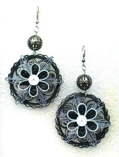 SUSAN QUILLING: My Quilling Jewelry