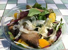 Portobello Salad with Fennel, Orange & Scallions – Recipe Of The Week