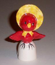 Pie Bird Mrs. Redbird Dressed Up Piebird
