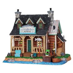Shop carole towne christmas porcelain lighted dodd s farm christmas