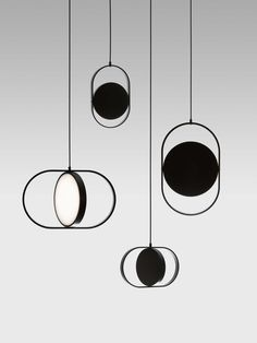 Kuu: A Reversible, Moon-Inspired Pendant Light by Elina Ulvio - Design Milk