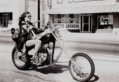 1970s easyriders chopper chick