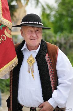 Folk costumes from Podhale region, Poland.