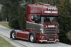 Scania R500 Topline, Roling