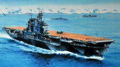 USS Yorktown (CV-5) - Portaerei ClasseYorktown -Entrata in servizio30 settembre 1937 - Dislocamento20.191 t (standard) 25.893 t (pieno carico) LunghezzaLinea di galleggiamento: 232 m Globale: 246,7 m LarghezzaLinea di galleggiamento: 25,4 m Globale: 33,4 m Altezza45 m Pescaggio7,9 m  120.000 CV Velocità32,5 nodi  (61 km/h) Autonomia12.5000 mn a 15 nodi (23.150 km a 28 km/h) Equipaggio2.200 marinai + personale di volo