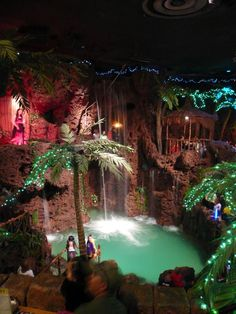 Denver Bucket List: Check (had to go for a friends birthday-I still have nightmares about the food and restrooms..tee hee)  Now in its 40th year, the eccentric 52,000-square-foot Casa Bonita Mexican restaurant is a Colorado landmark exuding a glittering chaos made up of a Mexican village, cliff divers, rooms outfitted in Edwardian furnishings, stalagmites, bubbling mud pots, strolling guitarists, haunted caves, arcades and a jail cell with rubber bars.