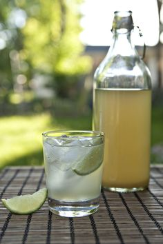 homemade-ginger-ale-recipe, good to prevent motion sickness or a sour stomach. Must make a batch this summer:)