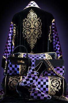 4441e631711  AntoniaSautter Collection  kimono  cuscions  shoes  bags  handprinted   velvet  Venice  fashion  sautterland