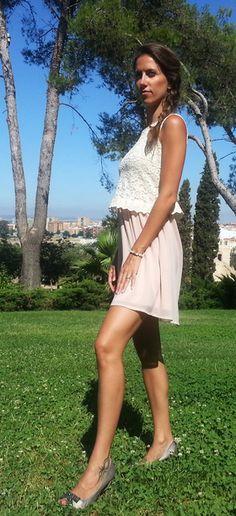 Vestido de encaje http://probandoropa.com/es/vestidos/vestido-de-encaje