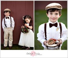 omc! absolutely adorbs... too bad i just got married. cutest ring bearer get up evvvvver!