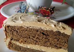 To try for dad. AMIEs MOCHA CAKE
