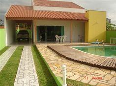 jardins de casas residenciais simples - Pesquisa Google