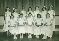 Vassar Brothers Hospital's School of Nursing Student Council, 1958