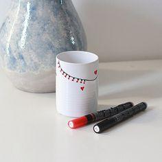 Маркер для стекла и керамики