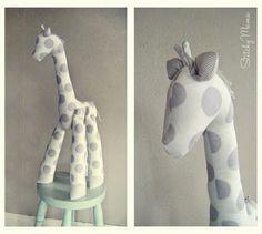 Patrones para hacer una jirafa de tela (1)