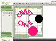Cricut Craft Room tutorial video