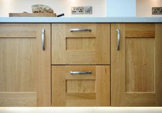 Solid oak kitchen cabinet doors - Sheffield Sustainable Kitchens