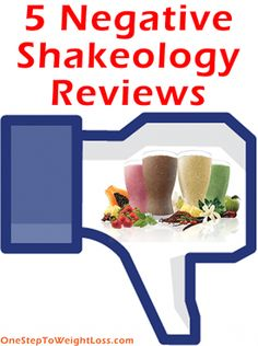 5 Negative Shakeology reviews! Is Shakeology just a waste of your money, find out here: http://www.onesteptoweightloss.com/negative-shakeology-reviews