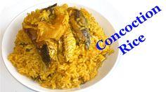 Nigerian Concoction Rice (Nigerian Palm Oil Rice)