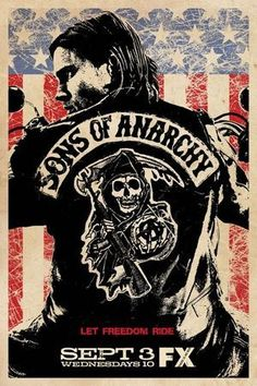 LOVE Sons of Anarchy, love jax teller Charlie hunnam Jax Teller, Best Tv Shows, Best Shows Ever, Favorite Tv Shows, Favorite Things, Ron Perlman, Poster A3, Poster Prints, Canvas Poster