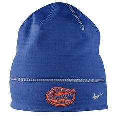 d5087381019 Florida Gators Nike Championship Drive Fleece Uncuffed Knit Beanie - Royal