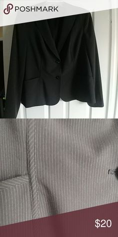 Style & Co Pinstripe Blazer Style & Co Pinstripe Blazer Style & Co Jackets & Coats Blazers