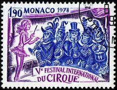 1978 Mónaco _ V Festival Internacional de Circo