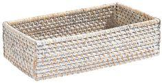 Diese Box von LANDSCAPE ist ein chices Detail in Ihrem Haushalt: Der geflochtene, quadratische Korb besteht ausRattan. Die Oberfläche wurdeweißabgerundet. So entsteht eine besonders charmante Optik. Nutzen Sie diese elegante Box von LAN