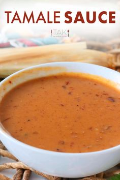 You need this easy cheesy sauce recipe in your life! This Tamale Sauce that reigns supreme with its Tex-Mex flare and chipotle kick. The perfect consistency for drizzling over tamales and more! Sauce Recipes, Raw Food Recipes, Appetizer Recipes, Cooking Recipes, Freezer Recipes, Freezer Cooking, Drink Recipes, Cooking Tips, Appetizers