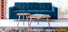 Gus* Design Group creates original modern furniture and home accessories inspired by mid-century classics and simple, everyday forms. Walnut Coffee Table, Modern Coffee Tables, Furniture Making, Cool Furniture, Furniture Stores, Contemporary Furniture, End Tables, Home Accessories, Love Seat