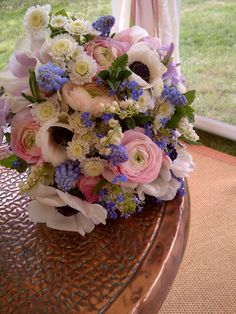 pretty spring bouquet Catkin