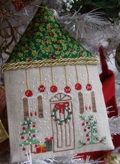 Counted Cross Stitch Design by Ezia Gladstone - Home Sweet Home Collection