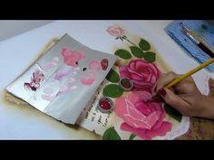 Pintura em Tecido por Paty Buoso - 14/07/2017 - Mulher.com - Mega Artesanal - YouTube