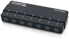 BUY Plugable 7 Port USB 3.0 Hub with 4A Power Adapter