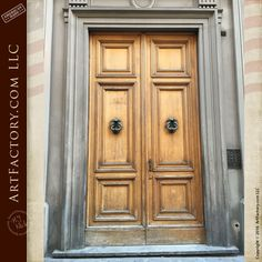Piccolo Doccione - Rome Collection - Custom Door Entrance - ED23