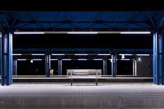 Non-place Empty train station