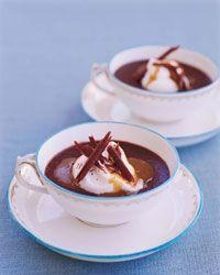 Pots de Crème with Chocolate, Chile and Espresso