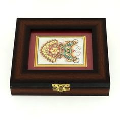 Amazon.com: Wooden Jewelry Boxes with Indian Art on Marble Mothers Gift: ShalinCraft: Jewelry