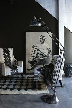 Contrasting Home Decor At Weylandts - AphroChic | Modern Global Interior DecoratingAphroChic | Modern Global Interior Decorating