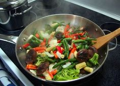 Stir Fry Lessons for Home Cooks