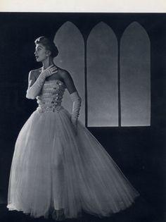 Balenciaga 1954 Evening Gown