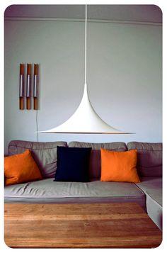 Danish design hanging lamp. Semi by Claus Bonderup di OldAndCold