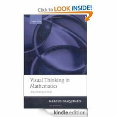 Visual Thinking in Mathematics by Marcus Giaquinto. $20.56. Publisher: Oxford University Press, USA (August 3, 2007). 298 pages