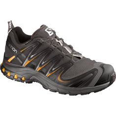 Salomon Men's XA Pro CS WP Trail Running Shoe,Autobahn/Black/Yellow M US: There's no bad weather when you've got the right gear. The XA Pro CS WP is the iconic adventure shoe that connects you with every type of terrain and conditions. Best Trail Running Shoes, Hiking Shoes, Running Shoes For Men, Hiking Gear, Running Outfits, Trekking Gear, Trail Shoes, Running Gear, Hiking Fashion